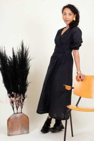 Patron de couture Robe portefeuille d'automne PEMA