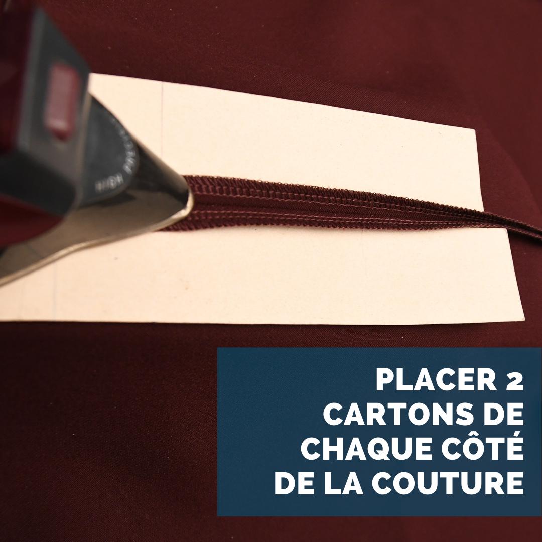 OSE PATTERNS - Des coutures ouvertes nettes avec des bandes de papier cartonné