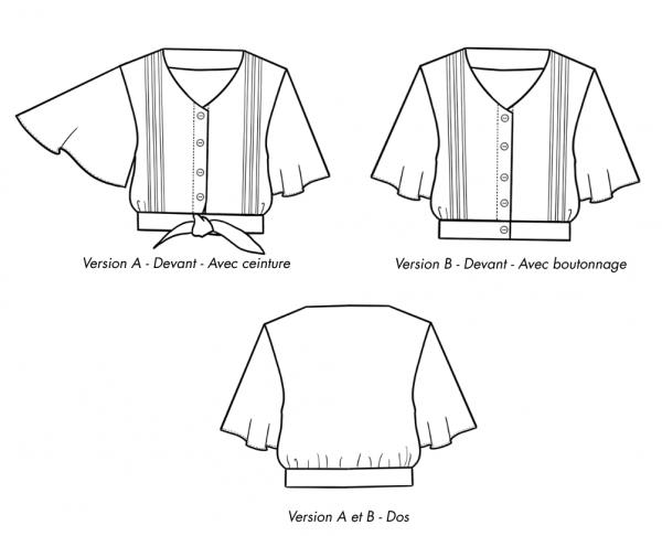 Ose Patterns - Amanda dessin technique