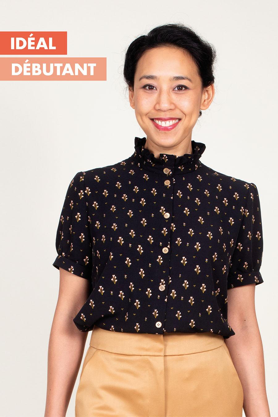 Ose Patterns - Haut KIM - Patron de couture débutant