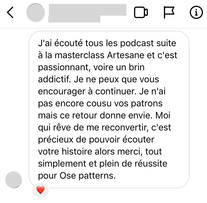 Avis Podcast Ose Toujours
