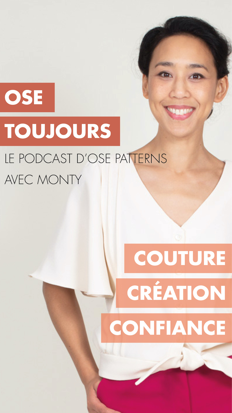 Podcast couture Ose Patterns