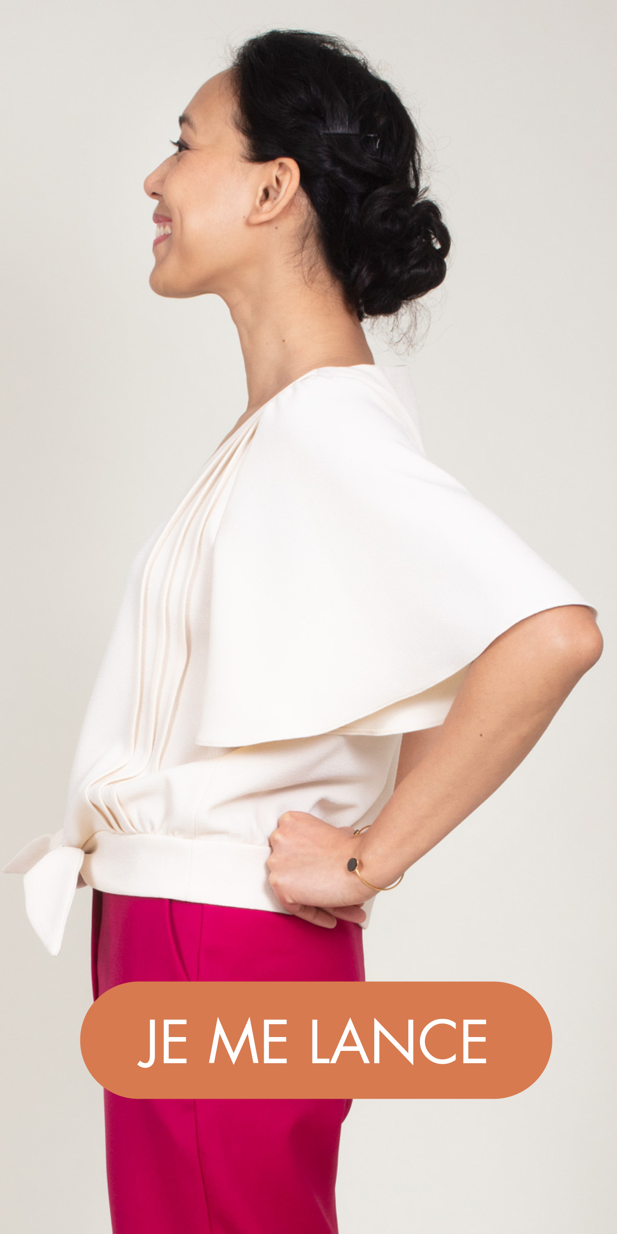 Patron de couture blouse Amanda - Ose Patterns