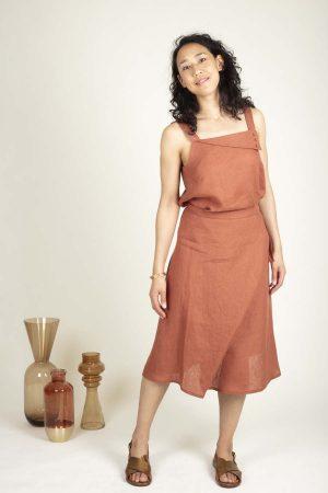 Patron de couture jupe facile - Jupe Kia - Ose Patterns